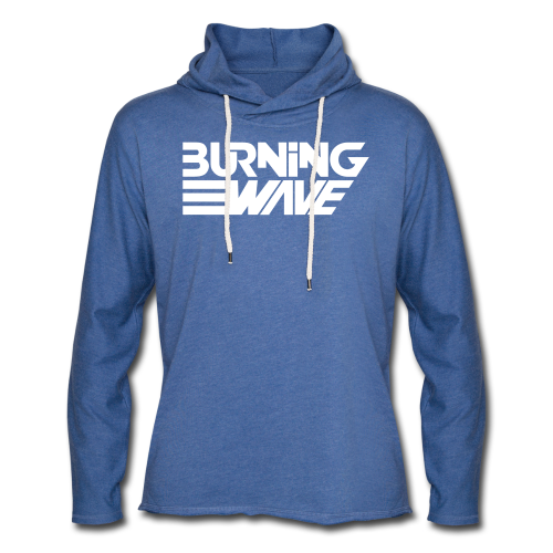 Burning Wave Block - Sweat-shirt à capuche léger unisexe