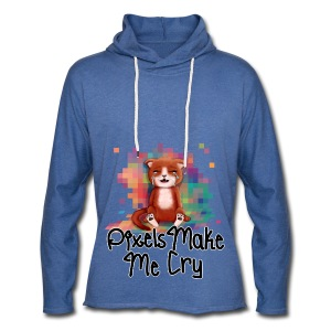 Pixel's Make Me Cry - Light Unisex Sweatshirt Hoodie