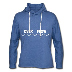 Over Flow - Light Unisex Sweatshirt Hoodie