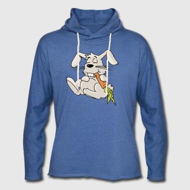 Królik marchewka dla gryzoni Hare gryzoni Chomik - Lekka bluza z kapturem – typu unisex