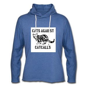 Cats against catcalls - Light Unisex Sweatshirt Hoodie