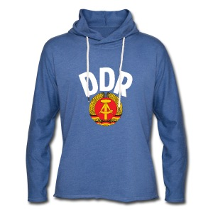 DDR - German Democratic Republic - Est Germany - Leichtes Kapuzensweatshirt Unisex