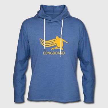 longboard - Let sweatshirt med hætte, unisex