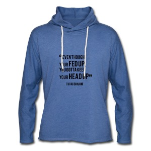 Mental Health Quote 1 - Light Unisex Sweatshirt Hoodie