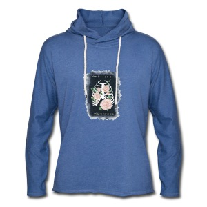 I'll be holding on to you - Sweat-shirt à capuche léger unisexe