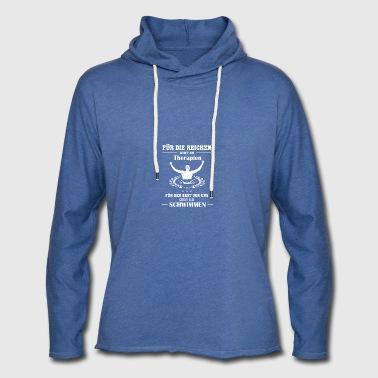 Schwimmer und Reich - Leichtes Kapuzensweatshirt Unisex