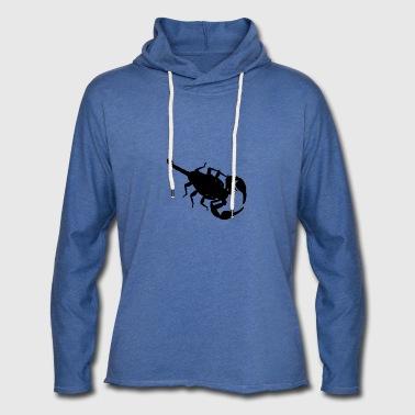 Scorpion - Sweat-shirt à capuche léger unisexe