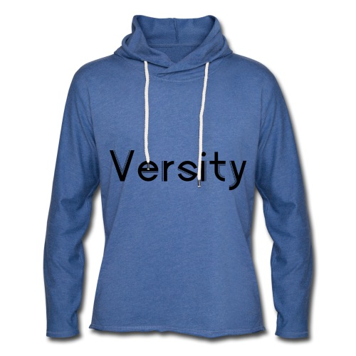 Versity Original Transparent logo - Light Unisex Sweatshirt Hoodie