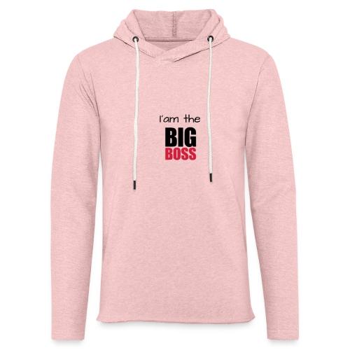 I am the big boss - Sweat-shirt à capuche léger unisexe