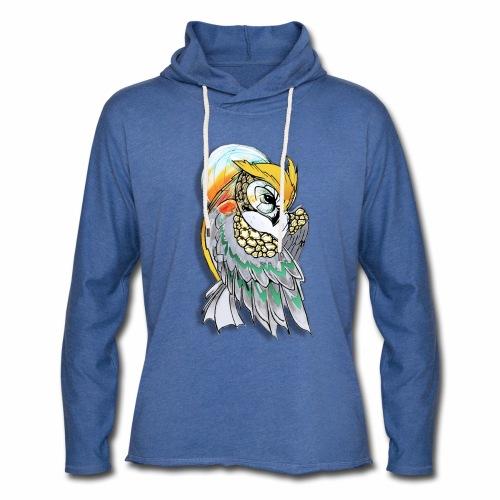 Cosmic owl - Sudadera ligera unisex con capucha