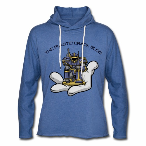 Plastic Crack Blog - Light Unisex Sweatshirt Hoodie