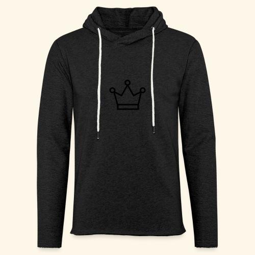 The Queen - Let sweatshirt med hætte, unisex