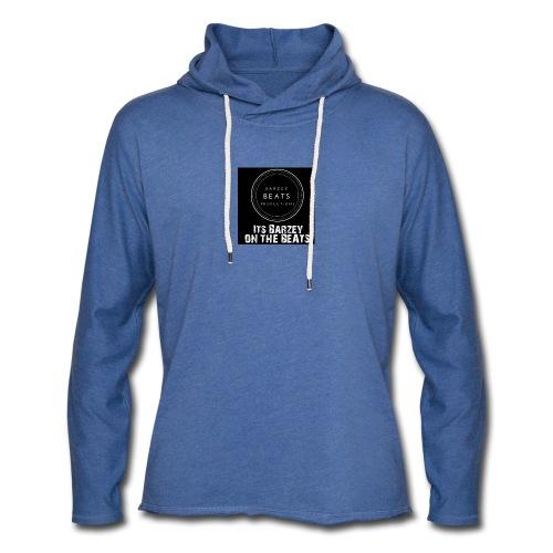 Its Barzey on the beats - Light Unisex Sweatshirt Hoodie