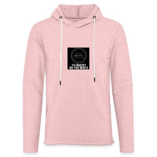 Its Barzey on the beats - Light Unisex Sweatshirt Hoodie
