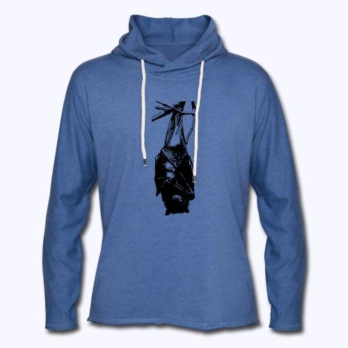 HangingBat schwarz - Leichtes Kapuzensweatshirt Unisex