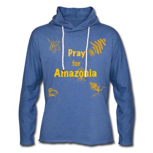 Pray for Amazonia - Leichtes Kapuzensweatshirt Unisex