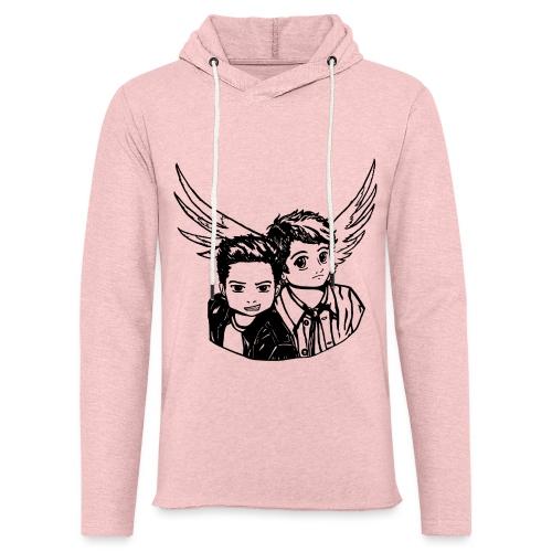 Destiel (Silhuet) - Let sweatshirt med hætte, unisex