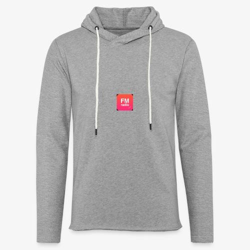 logo radiofm93 - Lichte hoodie unisex