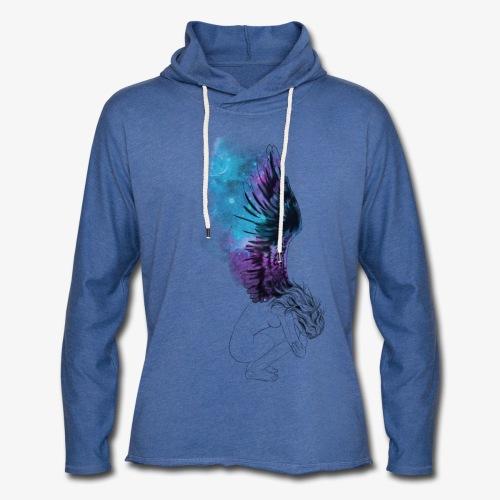 Anguish - Let sweatshirt med hætte, unisex
