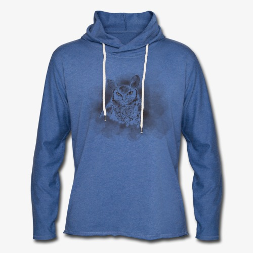 Owl be there for you - Let sweatshirt med hætte, unisex