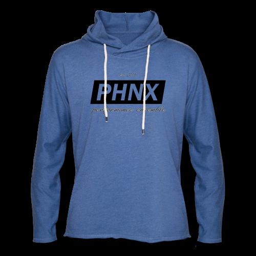 PHNX /#black/ - Leichtes Kapuzensweatshirt Unisex