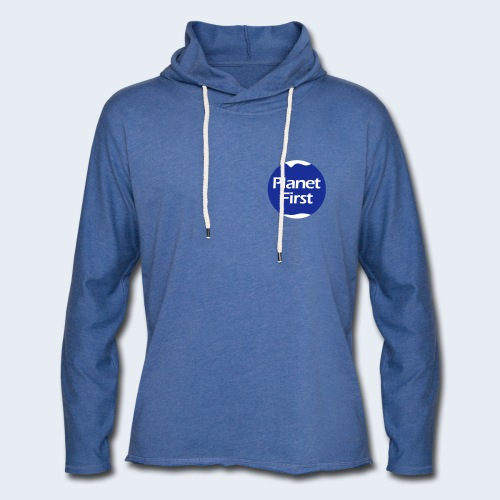 Planet First 2 - Lichte hoodie unisex