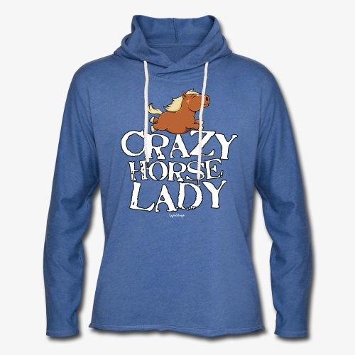 Crazy Horse Lady - Kevyt unisex-huppari