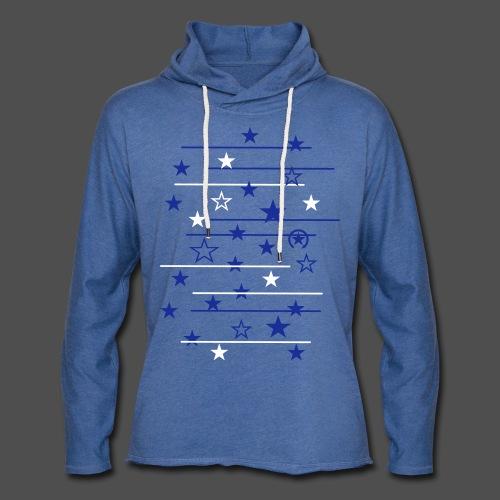 gwiazda - Lekka bluza z kapturem
