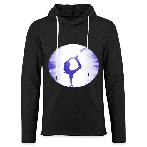 Blauer Skater - Leichtes Kapuzensweatshirt Unisex