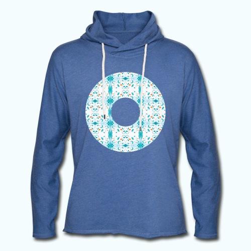 Hippie flowers donut - Light Unisex Sweatshirt Hoodie