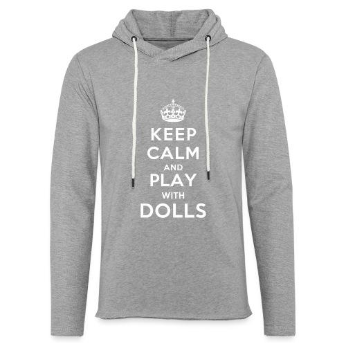 KeepCalmAndDollsVer2 - Leichtes Kapuzensweatshirt Unisex