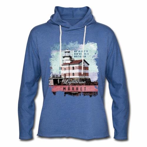 Märket majakkatuotteet, Finland Lighthouse, väri - Kevyt unisex-huppari