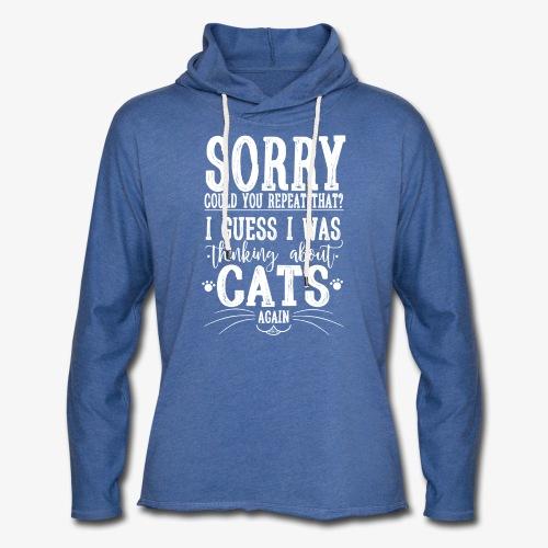 Sorry Cats II - Kevyt unisex-huppari