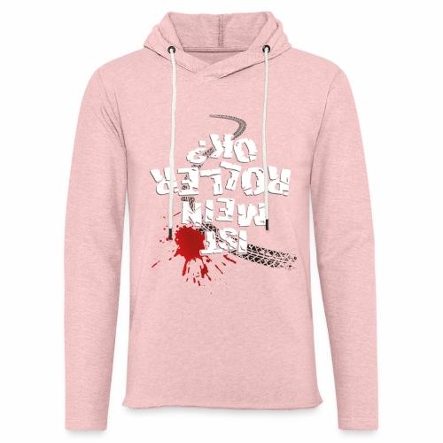 Ist mein Roller ok? (weißer Text) - Light Unisex Sweatshirt Hoodie