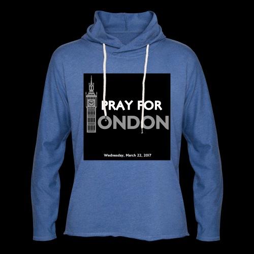 PRAY FOR LONDON - Sweat-shirt à capuche léger unisexe