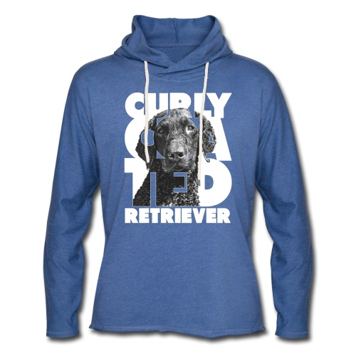 Curly Coated Retriever I - Kevyt unisex-huppari
