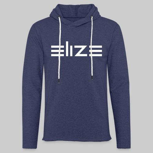 ELIZE Logo Vektor - Leichtes Kapuzensweatshirt Unisex
