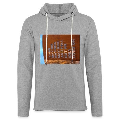 An Idea Lives On - Light Unisex Sweatshirt Hoodie