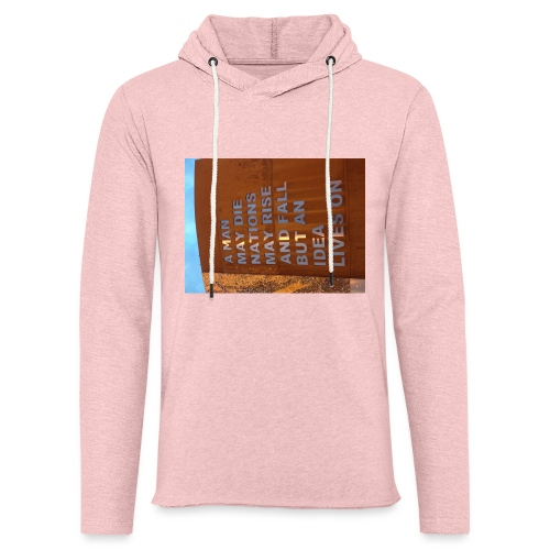 An Idea Lives On - Light Unisex Sweatshirt Hoodie