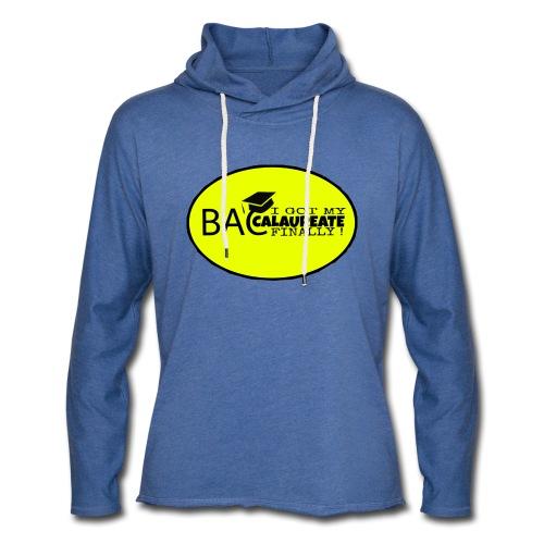 Baccalaureate Design - Sweat-shirt à capuche léger unisexe