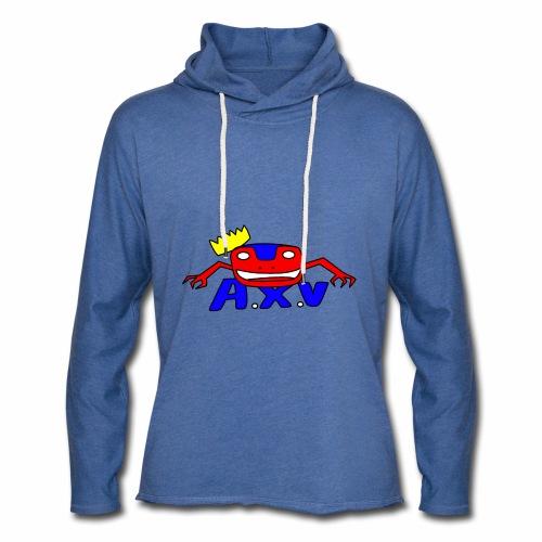 Frog world - Sweat-shirt à capuche léger unisexe