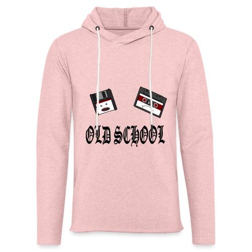 Old School Design - Leichtes Kapuzensweatshirt Unisex
