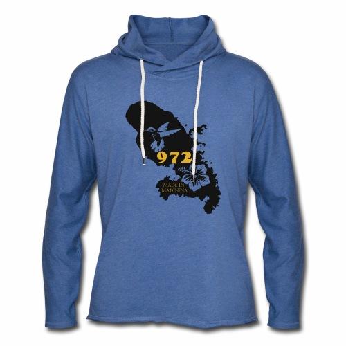 972 MADININA - Sweat-shirt à capuche léger unisexe