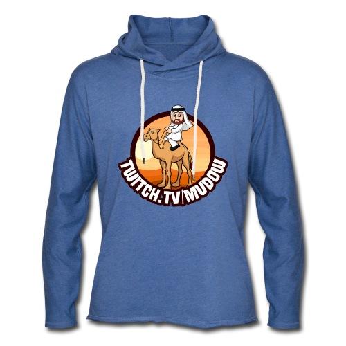 mudowdesign - Let sweatshirt med hætte, unisex
