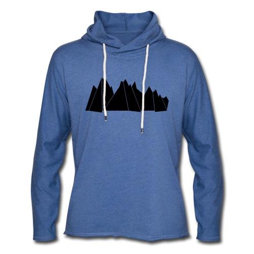 BlackMountains - Leichtes Kapuzensweatshirt Unisex