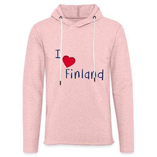 I Love Finland - Kevyt unisex-huppari