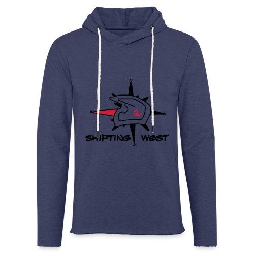 Shifting West Logo vector - Lichte hoodie unisex
