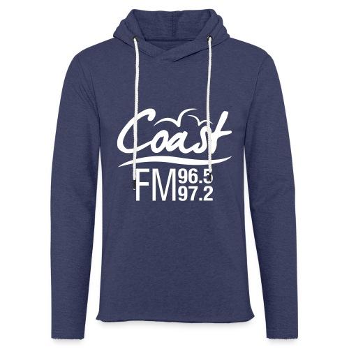 Coast FM single colour print - Light Unisex Sweatshirt Hoodie