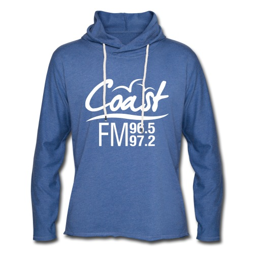 Coast FM single colour print - Light Unisex Sweatshirt Hoodie
