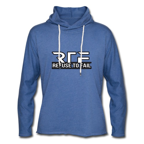Refuse to fail - Light Unisex Sweatshirt Hoodie